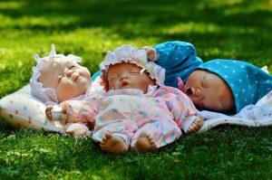 дети спят