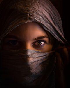 восточная женщина
