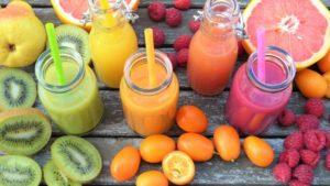 полезные фруктовые смузи