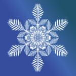 Снежинки из бумаги: шаблоны для вырезания, чтобы распечатать на окна