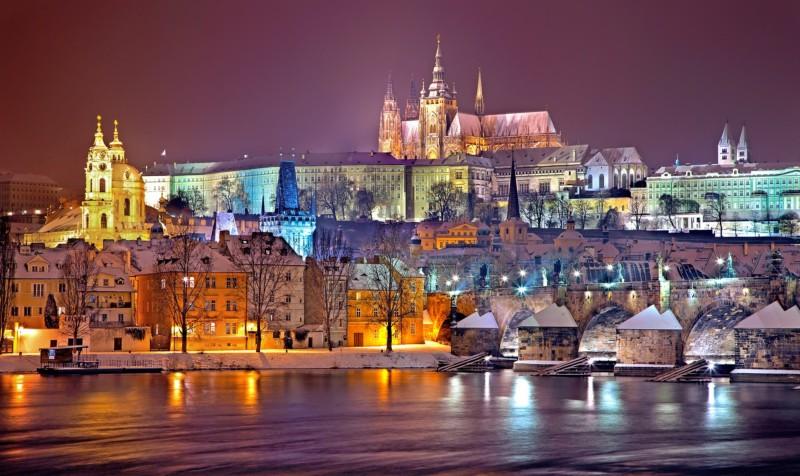 Прага на новогодние каникулы