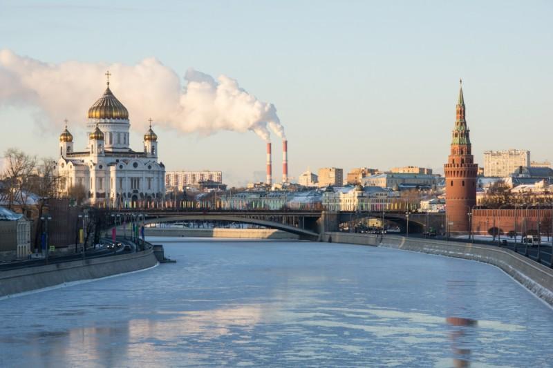 Москва на Новый год