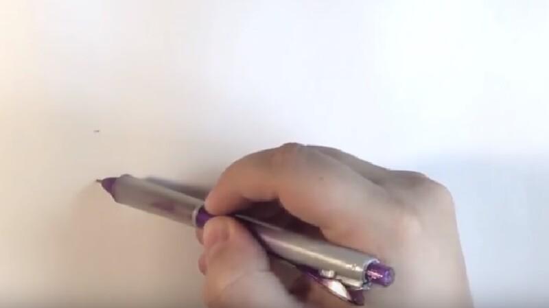 1-nachinaem-risovat Как нарисовать единорога Рисуем единорога поэтапно
