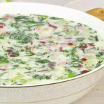 Окрошка классическая – 4 подробных рецепта с колбасой