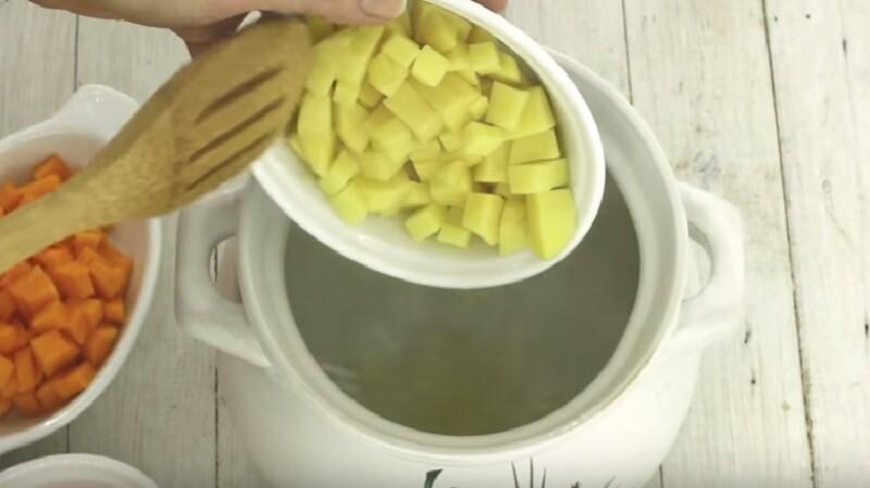 Диетический суп из овощей рецепт диетический