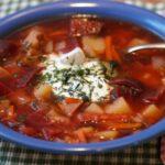 Борщ в мультиварке – классический рецепт с мясом