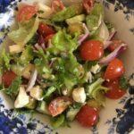 Настоящий греческий салат по классическому рецепту
