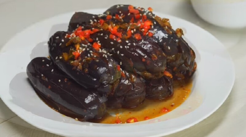 Быстрые маринованные баклажаны - рецепт пошаговый с фото
