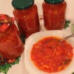 Лечо из помидоров, перца, моркови и лука – 5 рецептов на зиму