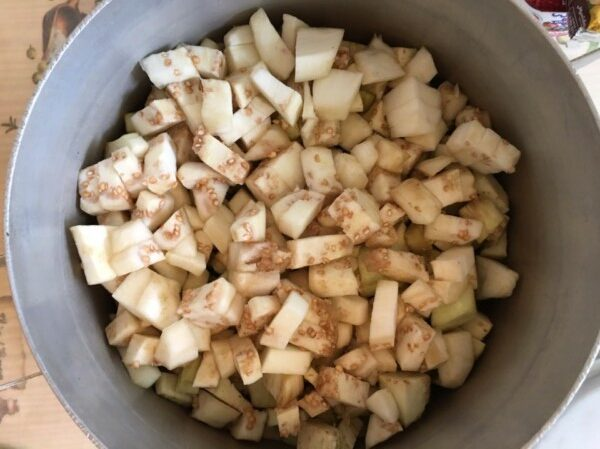 Овощное рагу с баклажанами - фото шаг 1