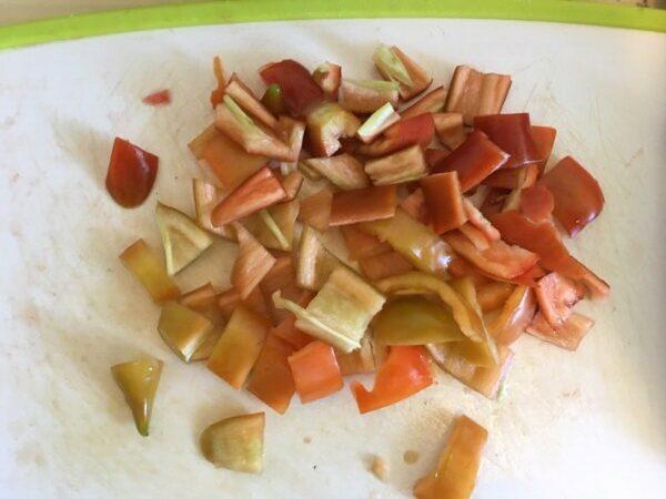 Суп с момордикой - фото шаг 3