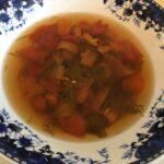 Суп с момордикой и овощами. Мой фото рецепт