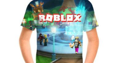 Модные футболки Роблокс (Roblox) для детей и взрослых
