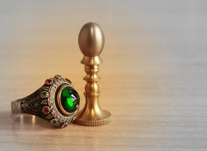 Чистка золота с камнями