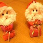 Дед Мороз своими руками. ТОП-5 поделок из подручных материалов в школу и детский сад