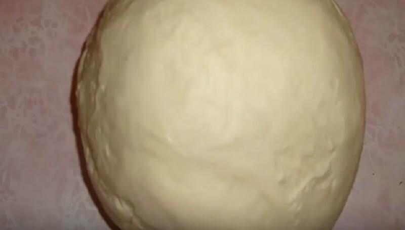 Майонезное тесто на манты