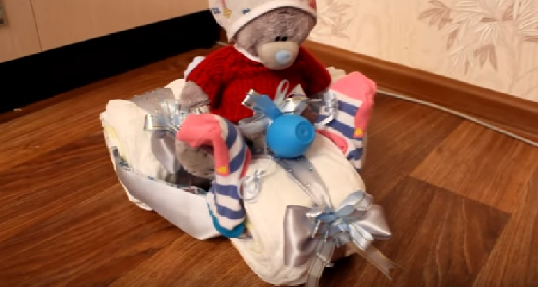 Подарок на рождение малыша своими руками
