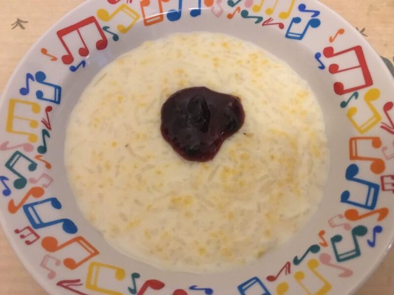 Пшенно-рисовая каша на молоке