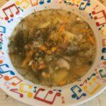 Рыбный суп из консервов скумбрии с пшеном — мой фото рецепт в мультиварке