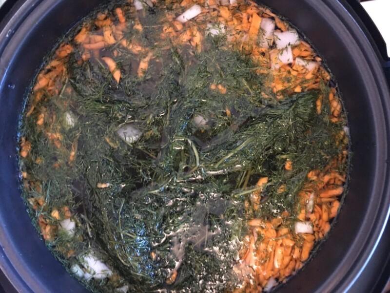 Рыбный суп из консервов - фото шаг 5