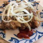 Очень вкусный шашлык из свинины в мультиварке — домашний рецепт на шпажках