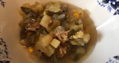 Овощное рагу с мясом и кабачками в мультиварке. Мой фото рецепт